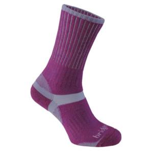 Ponožky Bridgedale Merino Hiker Women's plum/350