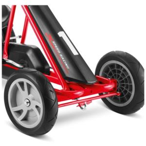 Detská šlapacia kára PUKY Go Cart F 20 čierno / červená, Puky