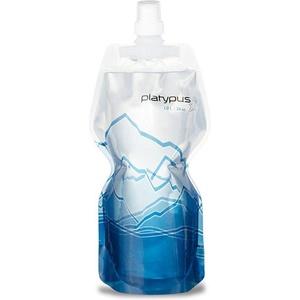 Fľaša Platypus SoftBottle Push-Pull 1 L modrá vzor 06873, Platypus