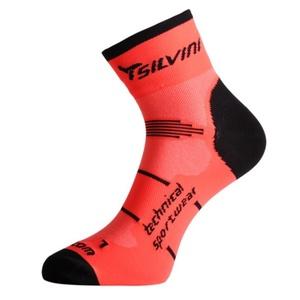 Ponožky Silvini Orato UA445 orange