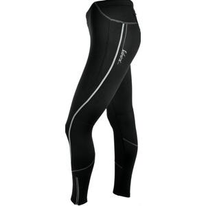Dámske nohavice Silvini Movenza + cyklovložka WP337P black, Silvini