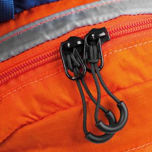 Cyklistický a bežecký batoh Spokey DEW15 l oranžovo-modrý, Spokey