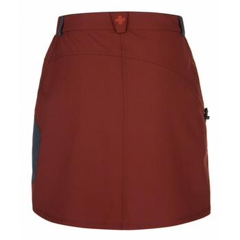 Dámska outdoorová sukne Kilpi ANA-W červená, Kilpi