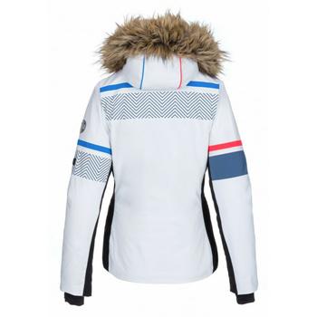 Dámska vyhrievané lyžiarska bunda Kilpi Aniela-W biela, Kilpi