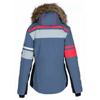 Dámska vyhrievané lyžiarska bunda Kilpi Aniela-W modrá, Kilpi