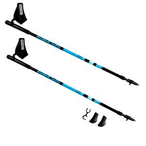 Palice Nordic Walking Spokey ZIGZAG II modro-čierne