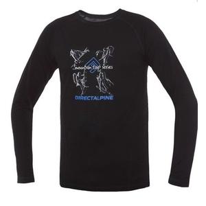Tričko Direct Alpine Furry Long black (activity), Direct Alpine