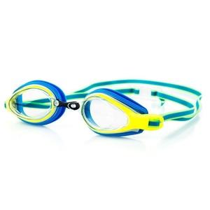 Plavecké okuliare Spokey KOBRA modro-žlté, Spokey