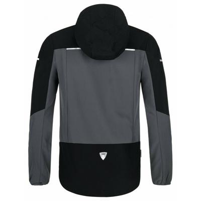 Pánska ľahká softshellová bunda Kilpi Balans-M tmavo sivá, Kilpi