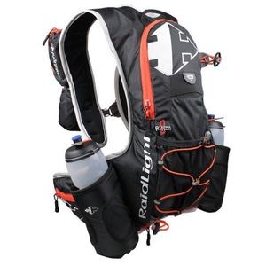 Bežecký hydratačný batoh s fľašami Raidlight Trail XP Bottle Black / Piment, Raidlight