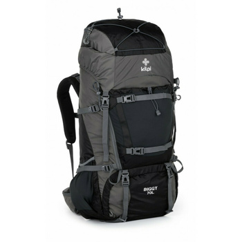 Turistický batoh 70 L Kilpi Bigg-U tmavo šedá, Kilpi