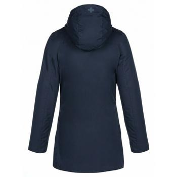 dámsky kabát Kilpi BRASIL-W tmavomodrý, Kilpi