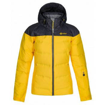 Dámska lyžiarska bunda Kilpi BUFFY-W žltá, Kilpi