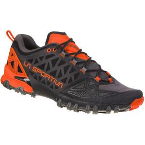 Topánky La Sportiva Bushido II carbon / tangerine, La Sportiva