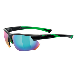 Športové okuliare Uvex SPORTSTYLE 221, Black Green (2716), Uvex