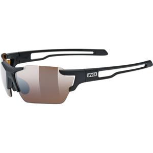 Športové okuliare Uvex SPORTSTYLE 803 SMALL CV (ColorVision), Black Mat (2291), Uvex