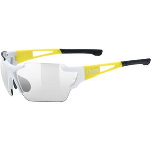 Športové okuliare Uvex SPORTSTYLE 803 RACE VM, White Yellow (8605), Uvex