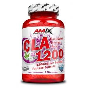 Redukcia hmotnosti Amix CLA 1200 + Green Tea 120 cps., Amix