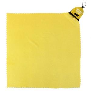 rýchloschnúci uterák Spokey NEMO 40x40 cm žltý s karabinouu, Spokey