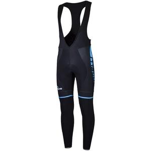 Cyklistické nohavice Rogelli UMBRIA 2.0 s gélovú cyklovýstelkou, čierno-modré 002.247., Rogelli