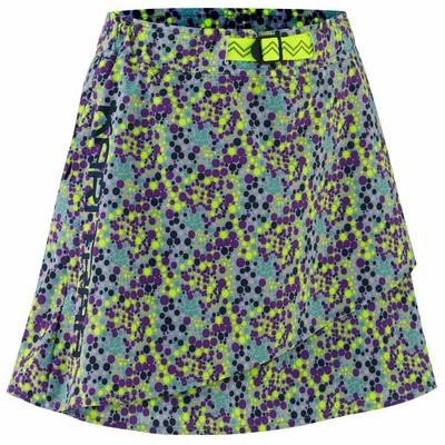 Dámska športová sukňa s integrovanými šortkami Kari Traa Signe skort 622803, modrá/sivá, Kari Traa