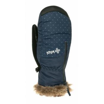 Dámske lyžiarske palčiaky Kilpi DEBBY-W tmavomodrá, Kilpi