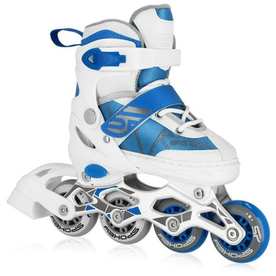 Kolieskové korčule Spokey TONY bielo-modré, Spokey