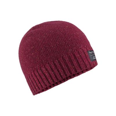 zimné čiapky Salewa Melange Beanie rhodo red 28175-6360, Salewa