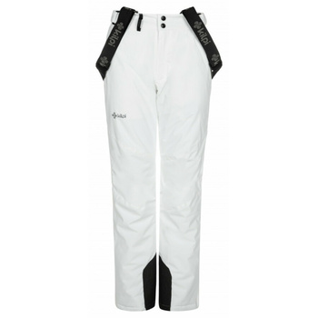 dámske lyžiarske nohavice Kilpi ELARA-W biele, Kilpi