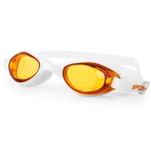 Plavecké okuliare Spokey TINI oranžová sklá, Spokey