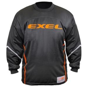 Brankársky dres EXEL S100 GOALIE JERSEY black / orange, Exel