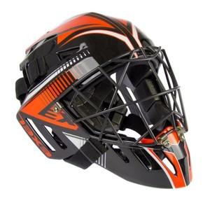 golmanský helma EXEL S100 HELMET senior black / orange, Exel