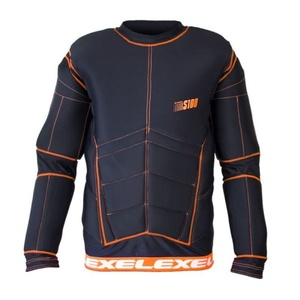 golmanský dres EXEL S100 PROTECTION SHIRT black / orange, Exel