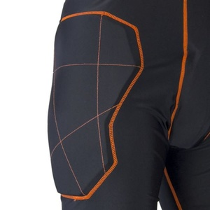 golmanský nohavice EXEL S100 PROTECTION SHORT black / orange, Exel