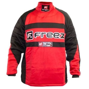 Brankársky dres FREEZ Z-80 GOALIE SHIRT BLACK/RED junior, Freez