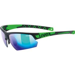 Športové okuliare Uvex SPORTSTYLE 224, Black Mat Green (2716), Uvex
