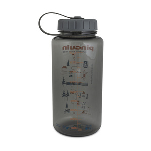 Fľaša Pinguin Tritan Fat Bottle Grey 2020 1000 ml, Pinguin