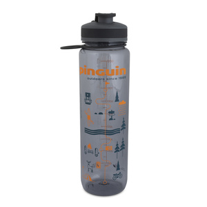 Fľaša Pinguin Tritan Šport Bottle 1,0L grey, Pinguin
