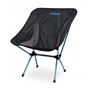 stolička Pinguin Pocket Chair Black/Blue, Pinguin