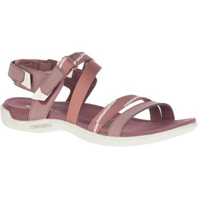 Dámske sandále Merrel l District Mendi Backstrap marron/burlwood, Merrel
