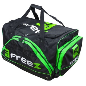 Športové taška FREEZ WHEELBAG MONSTER-80 BLACK-GREEN, Freez