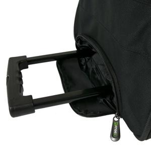 Športové taška FREEZ WHEELBAG PREMIER-76 BLACK-GREEN, Freez