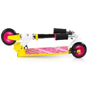 Kolobežka Spokey DUKE kolieska 125 mm, žlto-ružová, Spokey