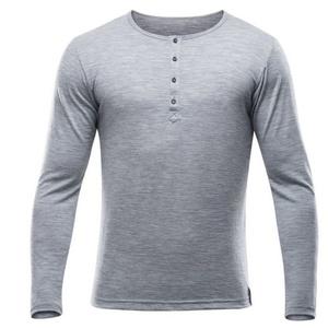 Pánske triko Devold Hess MAN button shirt GO 181 247 A 770A, Devold