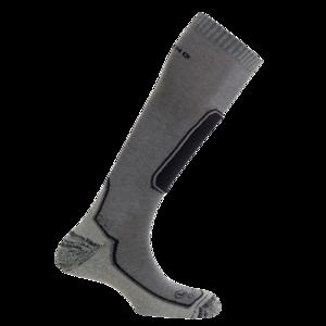 Ponožky MUND skiing OUTLAST sivá, Mund