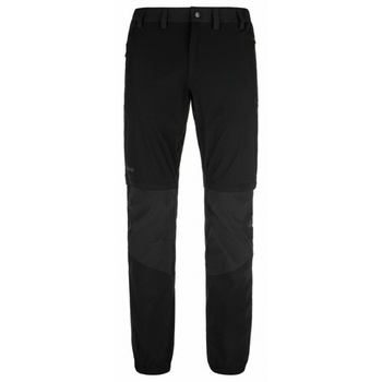 Pánske outdoorové oblečenie nohavice Kilpi Hoši-M čierna, Kilpi
