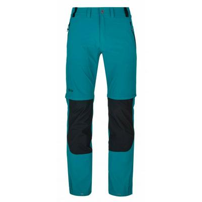 Pánske technickej outdoorové nohavice Kilpi Hoši-M tyrkysové