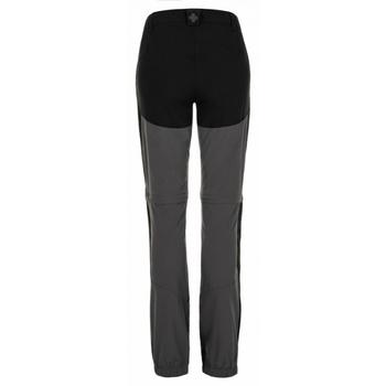 Dámske outdoorové nohavice Kilpi Hoši-W tmavo šedá, Kilpi