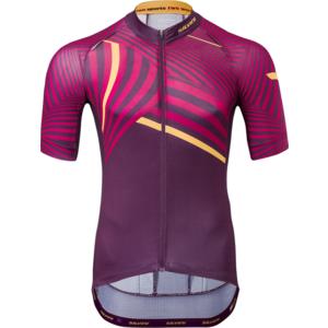 Pánsky cyklistický dres Silvini Chiana MD1418 plum, Silvini