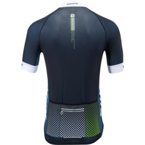 Pánsky cyklistický dres Silvini TEAM MD836 black-green, Silvini